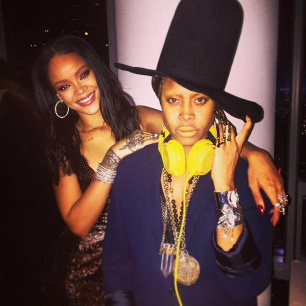 Rihanna and Erykah