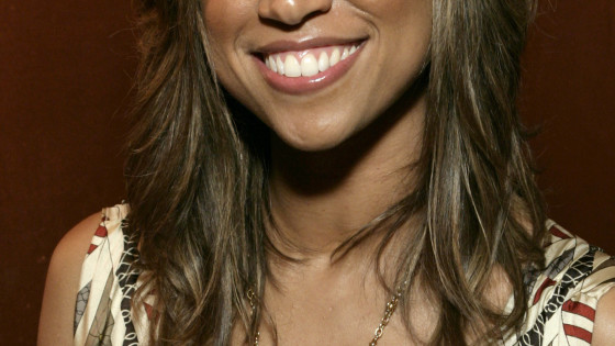 Stacey Dash, party host (Photo by Todd Williamson/FilmMagic)