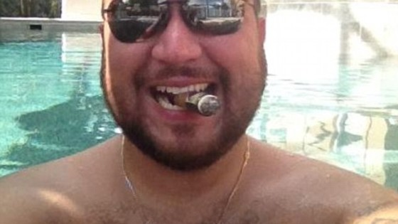 George Zimmerman in pool