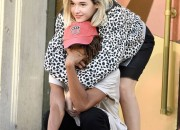 142511, Jaden Smith and his new girlfriend Sarah Snyder spotted out and about in NYC. The young couple could be seen being affectionate towards each other with Sarah comforting Jaden when he appeared to be tired. New York, New York - Tuesday September 15, 2015. USA - JUSA, AUS, NZ, SOUTH AFRICA, CHINA, & JAPAN ONLY Photograph: © CRYSTAL, PacificCoastNews. Los Angeles Office: +1 310.822.0419 sales@pacificcoastnews.com FEE MUST BE AGREED PRIOR TO USAGE
