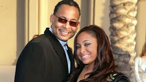 Raven Symone and her dad