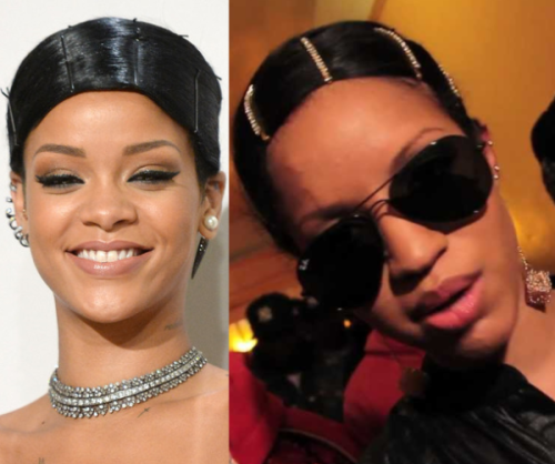 JACKED? JACKED UP? OR JUST NOT FINISHED UP? Rihanna Involved in a Hair-Splitting Follicle Fiasco!
