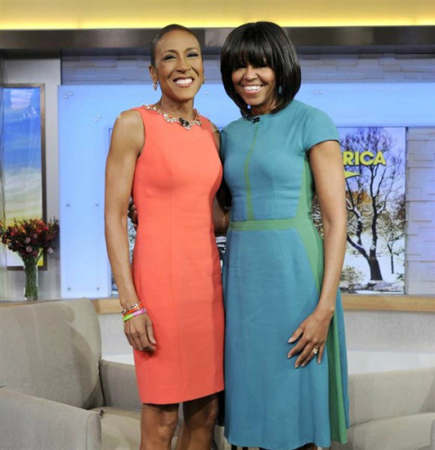 FIRST LADY MICHELLE OBAMA Supports ROBIN ROBERTS' Coming Out
