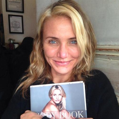 CAMERON DIAZ Bares All By Baring All in New Book