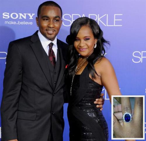 BOBBI KRISTINA BROWN'S a Married Woman Now