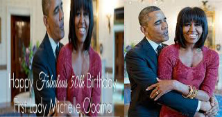 FLOTUS' 50th B-Day Shin Dig: B.Y.O.F.S (Bring Your Own Full Stomach) & Dancing Shoes. We'll Bring The BEYONCE