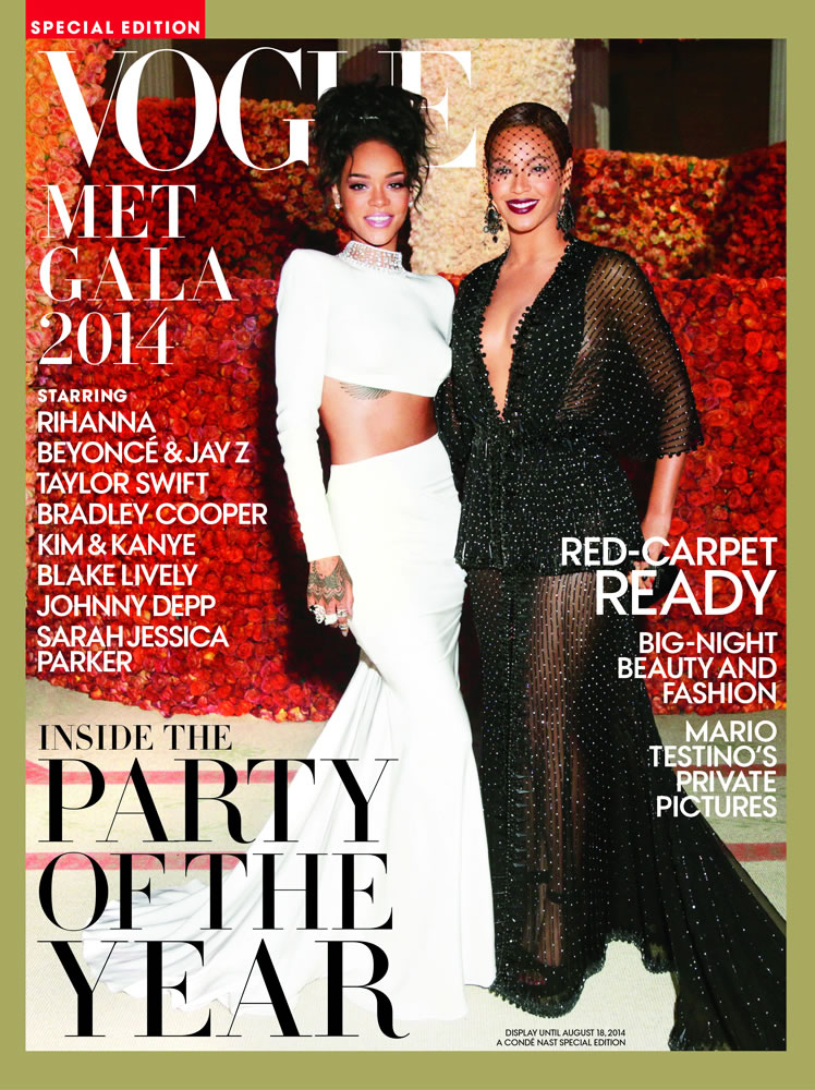 {OnDa Cover & In Between} BEYONCE with RIHANNA On Cover of VOGUE Special Edition