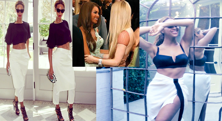 "BEYONCE Visits BFF & ""Conscious Uncoupled"" GWYNETH PALTROW This Past Weekend While ON THE RUN"