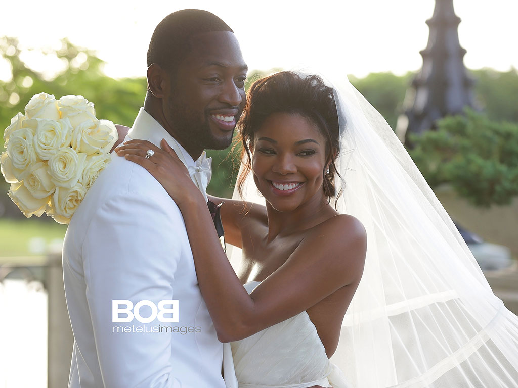 The Wade's Union: DWAYNE WADE & GABRIELLE UNION Are Officially Man & Wife