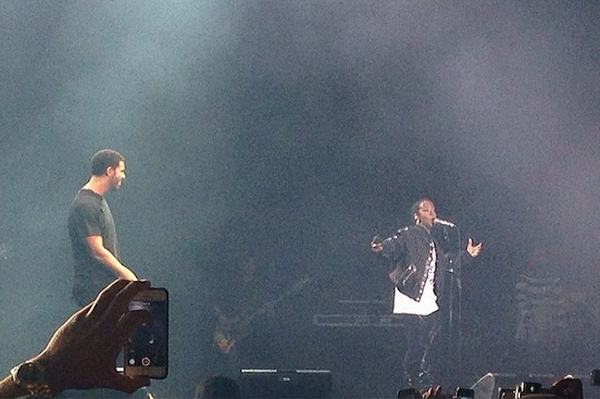 Rapper DRAKE Surprises #OVOFest 2014 Guests With Performances By & With LAURYN HILL