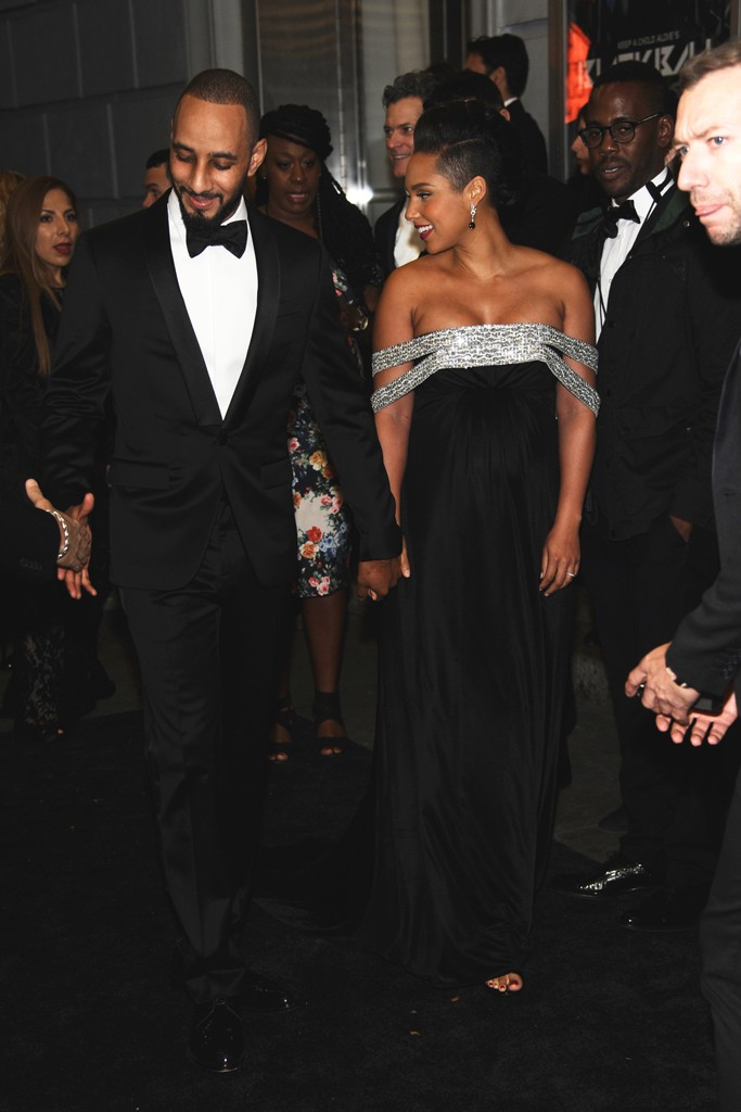ALICIA KEYS Holds 11th Annual Star-Studded Black Ball for Keep A Child Alive