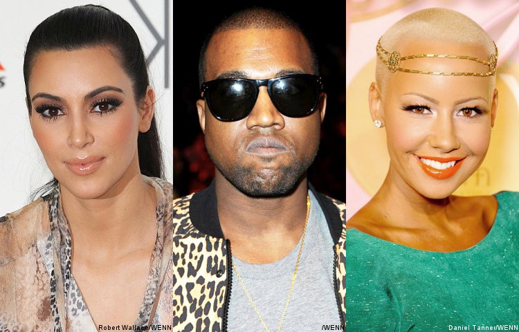 KIM KARDASHIAN Keeping Tight Leash And Watchful Eye On KANYE Now That AMBER ROSE is Single
