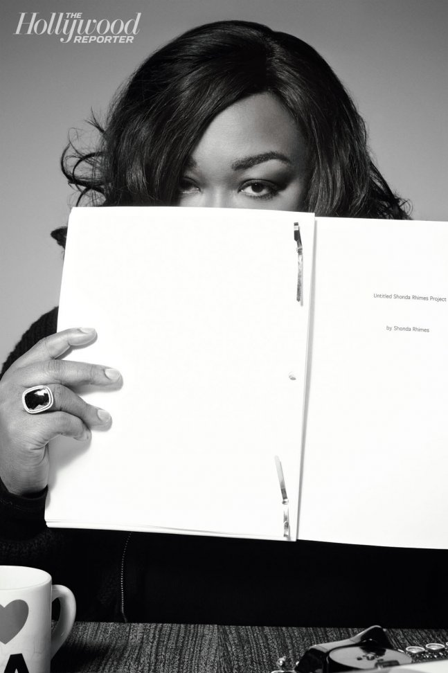 """{OnDa Cover & In Between} In Merely 52 Words, Writer SHONDA RHIMES Points Out """"Odd (Female) Misogyny"""" in NYT Writer's Article + Being Tied and (Literally) 'Type-Cast' to ABC"""
