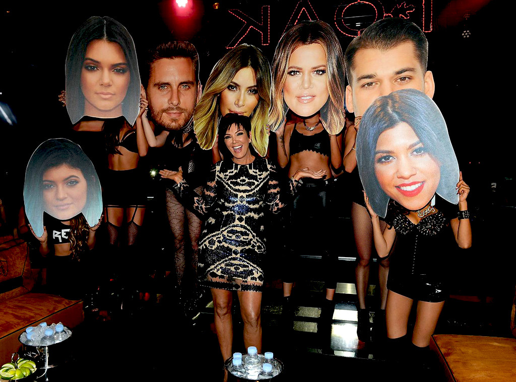 KHLOE, KIM, KYLIE & KENDALL Are No-Shows To KRIS JENNER's Vegas Birthday Party