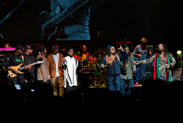 LAURYN HILL Performs With BOB MARLEY's THE WAILERS + MAXI PRIEST