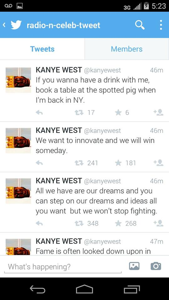 KANYE Posts Then Deletes Tweets An Hour Before Greatly Anticipated Interview