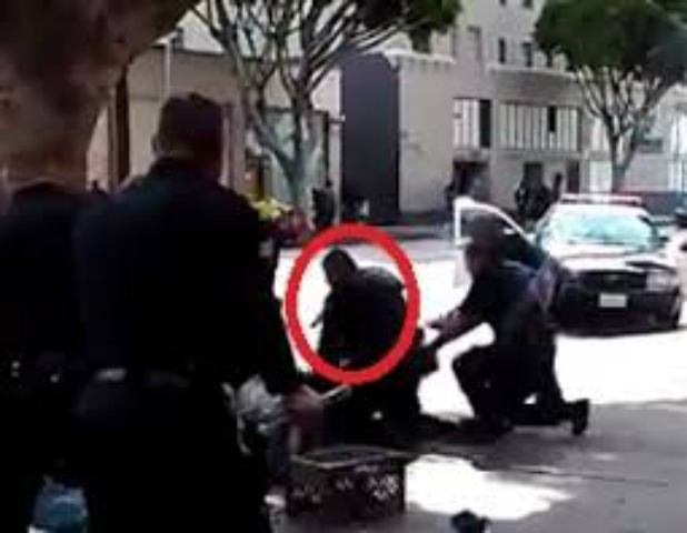 {Video Footage} LAPD Shooting of Homeless Man on Skid Row Caught on Tape