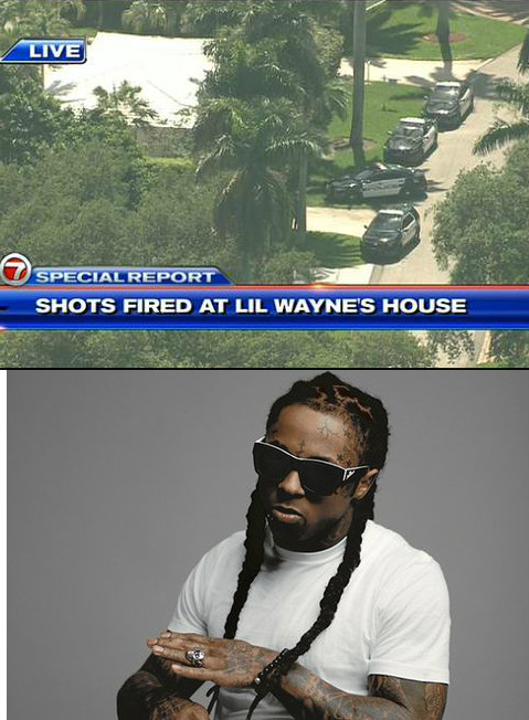 Shots Fired at Rapper LIL WAYNE's La Gorce Island Home in Miami SWAT Called (Live Updates & Reporting)