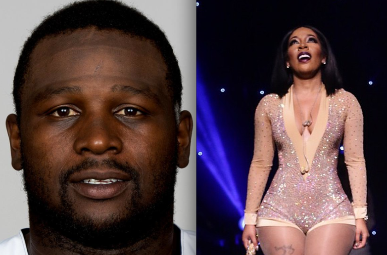 Boys Will Be Boys: NFL Free Agent LeRON McCLAIN Disses KMICHELLE + How Guys Who Really Like You Do Stuff Like This