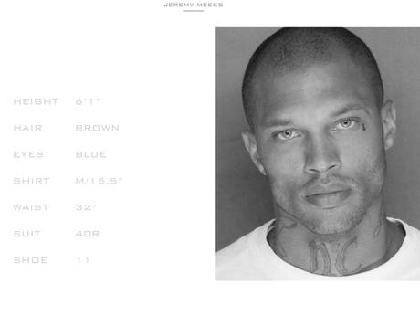"Signed, Sealed, When Delivered: Fine Felon JEREMY MEEKS Signs Modeling Contract w/Whitecross Management Straight from the ""GrayBar Motel"""