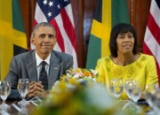 Here Ye Ragamuffins: PRESIDENT OBAMA's Patois on Fleek As He Visits Jamaica To Discuss Security (and Sess)