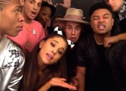 Age-Appropriate Shenanigans: ARIANA GRANDE, KENDALL JENNER, JUSTINE BIEBER, LANCE BASS & Friends Make Selfie-Video of CARLY RAE JEPSON's 'I Really Like You'