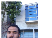 BLANK STARE NEWS: Man Takes Picture of Himself Outside RIHANNA's House, Tweets Her & Threatens To Kill Her?