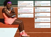 Notables & Fellow Athletes Congratulate SERENA WILLIAMS On Her 3rd French Open Win – What's The Irony ?
