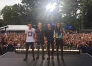 ONE DIRECTION Graces Stage of GMA's Summer Concert Series + Interviews w/MICHAEL STRAHAN & LARA SPENCER Confirmed: Louis Is A Dad-to-Be!