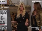 'Is This Tuning In You Have Here Or Is This Drunken?' JESSICA SIMPSON Appears Questionably Drunk on HSN
