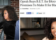 """'Boy Bye!' OPRAH Buying B.E.T Merely An Acronym for """"Boy Exit There"""" After Being Ambushed By """"Secret Son"""" From Past + Are Mentors Responsible For The Follow Through?"""