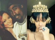"""RIHANNA Rihappears With """"R8"""" Date Near …And—TUPAC?"""