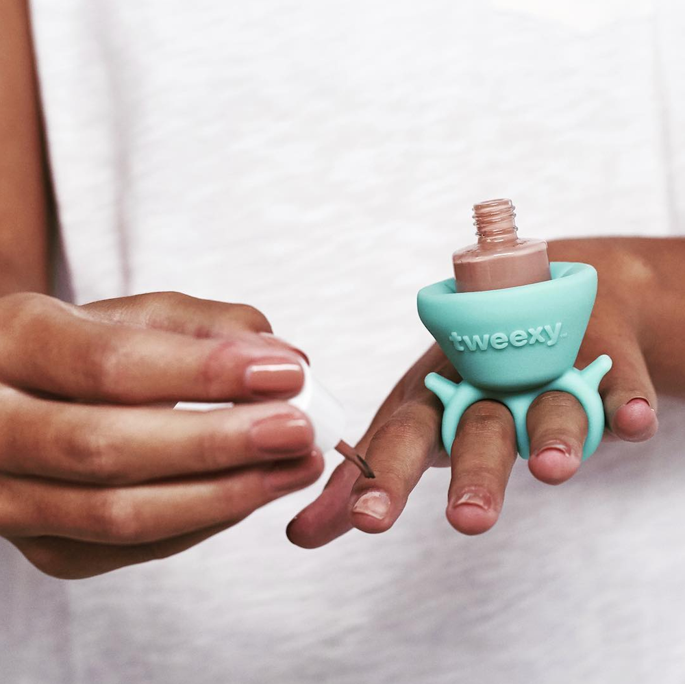 This TWEEXY Nail Polish Holder Is Sure To Make You Ask: \