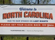 North Carolina Gifted Its First Anti LGBT Billboard – Courtesy of PLANTING PEACE