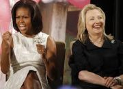 The Political Modern Day Thelma and Louise: HILLARY CLINTON and MICHELLE OBAMA Hit The Campaign Trail Stronger, Together