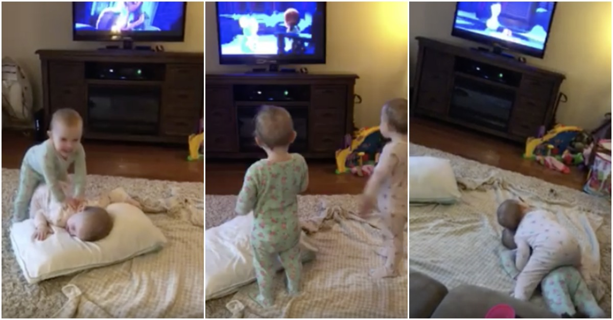 """Amazing Mimicry Of 2 Year-Olds Re-enacting Scene in """"Frozen"""""""