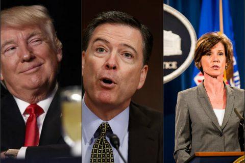 If It Quacks Like A Duck: May 8 – SALLY YATES Testifies Re: Russian Ties To U.S Election & On May 9 – TRUMP Fire's FBI Bureau Head: JAMES COMEY